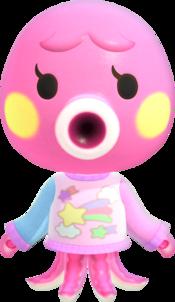Marina, an Animal Crossing villager.