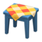 Wooden Mini Table (Blue - Orange) NH Icon.png