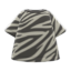 Animal-Stripes Tee (Zebra) NH Icon.png