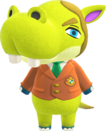 Artwork of Hippeux the Hippo