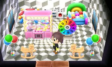 Interior of Pietro's house in Animal Crossing: New Leaf