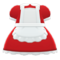Maid Dress (Red) NH Icon.png