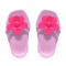 Flower Sandals (Pink) NH Icon.png