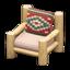Log Chair (White Wood - Southwestern Flair)
