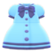 Sailor-Collar Dress (Blue) NH Icon.png