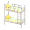 Bunk Bed (White - Colorful Lines) NH Icon.png