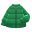 Down Jacket (Green) NH Icon.png