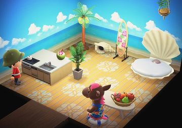 Interior of Annalise's house in Animal Crossing: New Horizons