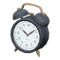 Old-Fashioned Alarm Clock (Black) NH Icon.png