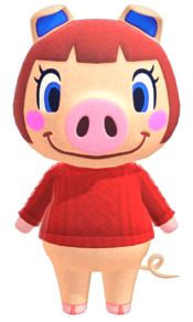 Peggy, an Animal Crossing villager.