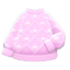 Pom-Pom Sweater (Pink) NH Icon.png