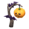 Spooky Standing Lamp (Orange) NH Icon.png