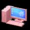 Desktop Computer (Pink - Desktop) NH Icon.png