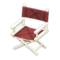 Director's Chair (White - Chic Pleather) NH Icon.png