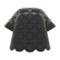 Lacy Shirt (Black) NH Icon.png