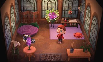 Interior of Blaire's house in Animal Crossing: New Horizons