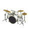 Drum Set (Pearl White - Glossy Black) NH Icon.png