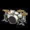 Drum Set (Pearl White - Glossy Black) NH Icon.png