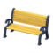 Garden Bench (Navy Blue) NH Icon.png