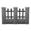 Iron-and-Stone Fence NH DIY Icon.png