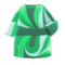 Marble-Print Dress (Green) NH Icon.png