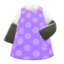 Sleeved Apron (Purple) NH Icon.png