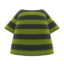 Striped Tee (Green) NH Icon.png