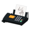 Fax Machine (Black - Written Note) NH Icon.png