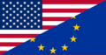 Flag of the United States and Europe.png