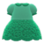 Floral Lace Dress (Green) NH Icon.png