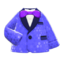 Comedian's Outfit (Blue) NH Icon.png