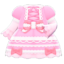 Lace-Up Dress (Pink) NH Icon.png