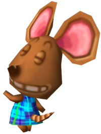 Chico, an Animal Crossing villager.