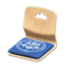 Floor Seat (Light Wood - Deep Blue) NH Icon.png