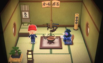 Interior of Ken's house in Animal Crossing: New Horizons