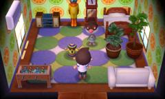 Peck's house interior