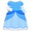 Princess Dress (Blue) NH Icon.png