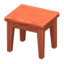 Wooden Mini Table (Cherry Wood - None)
