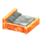 Frozen Bed (Ice Orange - Gray) NH Icon.png