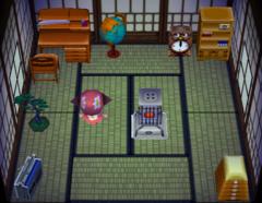 Hambo's house interior