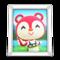 Poppy's Photo (White) NH Icon.png