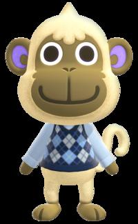 Deli, an Animal Crossing villager.