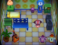 Eloise's house interior