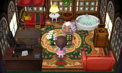 Lionel's house interior