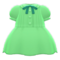 Pintuck-Pleated Dress (Green) NH Icon.png