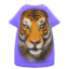 Tiger-Face Tee Dress (Purple) NH Icon.png