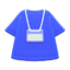 Staff Uniform (Blue) NH Icon.png