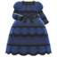 Victorian Dress (Navy Blue) NH Icon.png