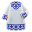 Bohemian Tunic Dress (Navy Blue) NH Icon.png