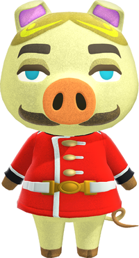 Chops, an Animal Crossing villager.